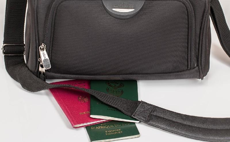 sac cabine avec passport